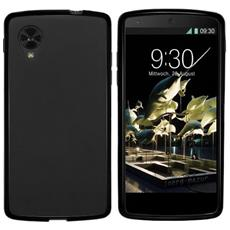 GOOGLE-NEXUS-5-TPU-S Cover Nero custodia per cellulare