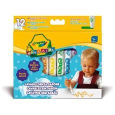 Colora Mini Kids 12 Pennarelli Lavabili 8325