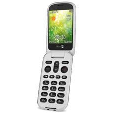 """6050 con Doppio Display 2.8"""" +Slot MicroSD Bluetooth Fotocamera 3Mpx colore Champagne / Bianco"""