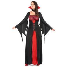 Costume Da Vampiro Per Donna Halloween Taglia Unica