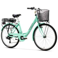 City Bike Elettrica Lombardo E-levanzo Ty700 7v Bafang Tiffany