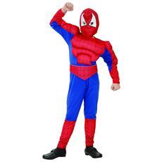 Costume Uomo Ragno Bimbo 7 - 9 Anni (m)