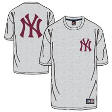 T-shirt Tovey New York Grigio Rosso S