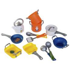 Gioco Bambini Set 12 Pz Per La Cucina 0478015
