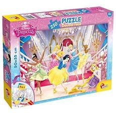 Principesse Disney - Puzzle Double-Face Plus 250 Pz