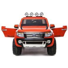 Auto Elettrica Ford Ranger Wildtrack Arancione Con Luci, Suoni E Telecomando 12 Volt 550 / or
