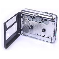 Convertitore Da Musicassette In Formato Mp3 Walkman Classico A Cassette Con Acquisizione Audio Usb