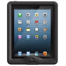 Cover Nuud Waterproof Impermeabile Antiurto per iPad 2/3/4 - Nero