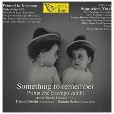Coscia / Sellani / Castelli - Something To Remember 180gr
