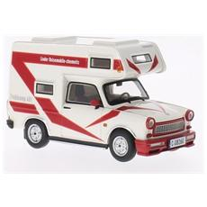 Ist189 Trabant 601 Wohnmobil 1980 White 1:43 Modellino