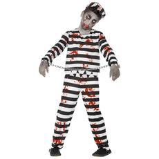 Costume Halloween Bambino Zombie Prigioniero 13 - 15 Anni