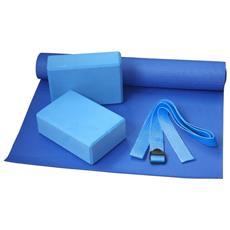 Set Yoga Unica Blu