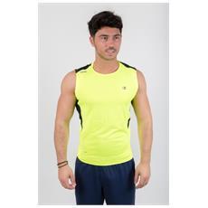 T-shirt T-cool Ss Tee Giallo Nero S