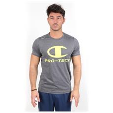 T-shirt Protech Logo Tee Grigio Xl