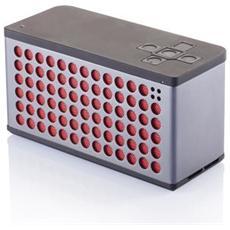 P326.651, Senza fili, Batteria, Bluetooth, Universale, Grigio, Rosso, Acrilonitrile butadiene stirene (ABS) , Alluminio