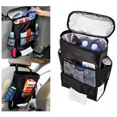 340518 Organizer Per Sedile Posteriore Auto Con Tasche E Scomparto Frigo