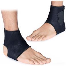 Protezione Caviglia Ambidestro Magnetico Fascia Supporto Elastica Tutore Fitness Con Chiusura In Velcro Neoprene