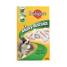 Pedigree Milky Biscotti 350g
