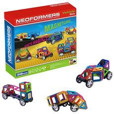 Costruttore Magnetico Per Bambini, Figure Per La Costruzione, Educativo Mini-gioco Creativo - 36 Pezzi