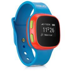 Orologio GPS per bambini MoveTime, consente la localizzazione, di effettuare e ricevere telefonate e messaggi vocali colore blu Speciale Mamiclub