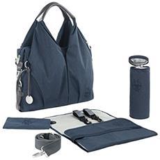 1101001405 Borsa ampia portapannolini Blu borsa portapannolino