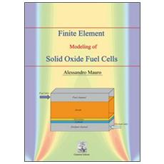 Finite element modeling of solid oxide fuel cells