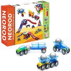 Costruttore Magnetico Per Bambini, Figure Per La Costruzione, Educativo Mini-gioco Creativo - 46 Pezzi