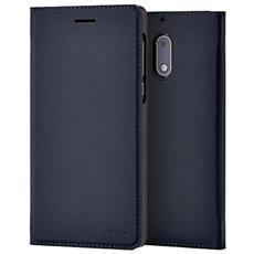 Flip Cover Custodia per Nokia 6 Colore Blu