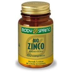 Body Spring Zinco 60 Compresse