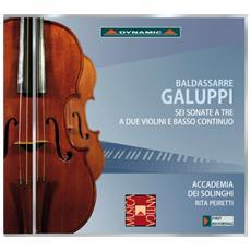 Galuppi Baldassarre - Sei Sonate A Due Violini E Basso