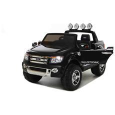 Auto Elettrica Ford Ranger Wildtrack Nera Con Luci, Suoni E Telecomando 12 Volt 550 / bk