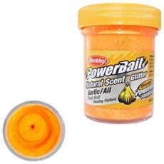 Pasta Powerbait Natural Scent Glitter Garlic Arancio Unica