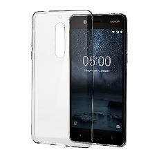 Cover in Plastica per Nokia 5 Colore Trasparente