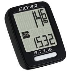 412126 Computer Per Bicicletta Bc 5.16 Nero 5160