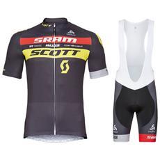 Scott Completo Magllia Ciclismo Manica Corta Estivo Da Uomo Xs