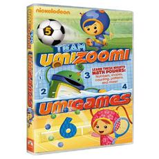 Dvd Team Umizoomi - Umigames