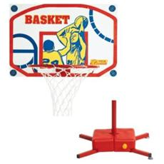 Basket Tabellone c / Canestro a Colonna Steam 407