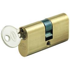 Cilindro Corni ovale mm. 80 ottone