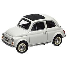 Bu12035w Fiat 500 L 1968 White 1:18 Modellino