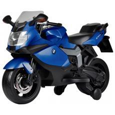 Moto Elettrica Bmw K 1300 S Blue Con Luci E Suoni 12 Volt 1300 / bl