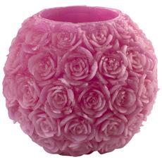 Lanterna Cera Rose Fucsia Cm20 Illuminazione