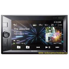 XNVKIT631. EUR SintoMonitor 2DIN senza CD, con software di navigazione