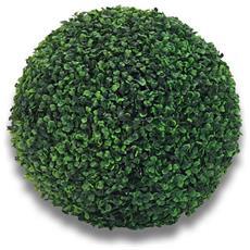 5 Sfere Bosso Artificiale Sintetica Foglie Verdi Buxus Finto Palla 40 Cm
