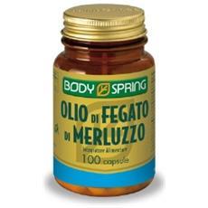Body Spring Olio Fegato Merluzzo Angelini