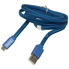 Cavo di Ricarica e Sincronizzazione USB / Micro USB Colore Blu