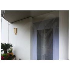 MEDIAWAVE store Zanzariera a tenda modello con chiusura calamitata casa giardino