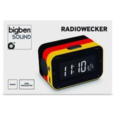Interactive RR30 - Germany, Orologio, LCD, Digitale, AM, FM, AC, Batteria, 87,5 - 108 MHz