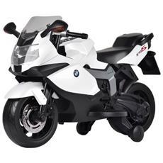 Moto Elettrica Bmw K 1300 S Bianco Con Luci E Suoni 12 Volt 1300 / wh