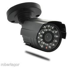 Telecamera Per Videosorveglianza Con 24 Led Infrarossi Con Sensore Pilotata Automaticamente