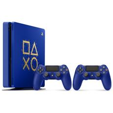 Console Playstation 4 PS4 500 Gb Slim + 2° Controller Dualshock 4 V2 Days of Play Limited Edition
